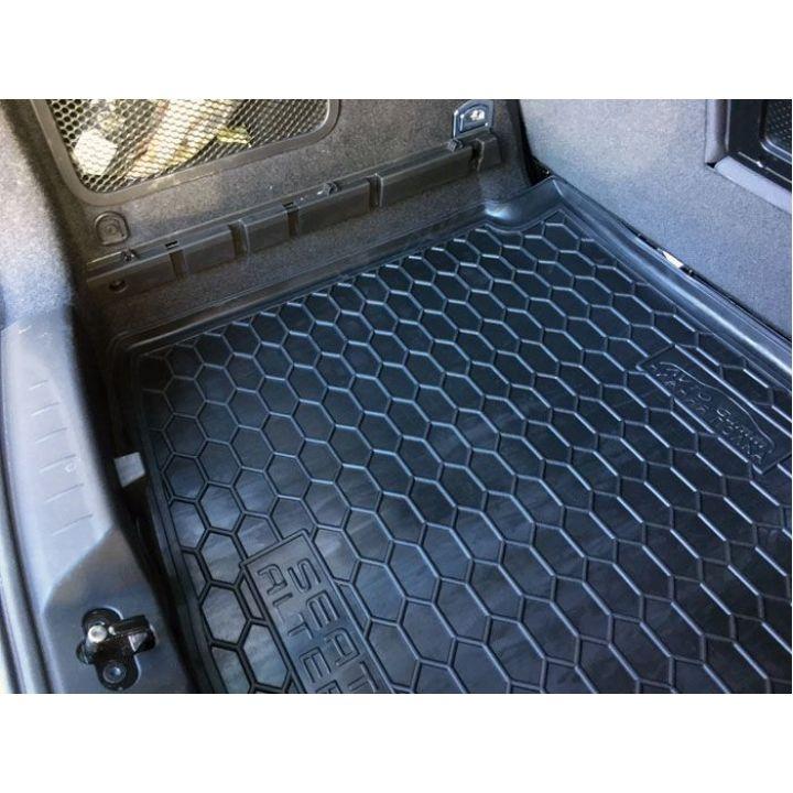 Коврик в багажник для Seat Altea '04-15 нижняя полка, полиуретановый (AVTO-Gumm)