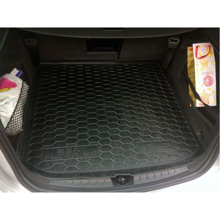 Коврик в багажник для Seat Altea XL 2007-2015 верхняя полка, полиуретановый (AVTO-Gumm)