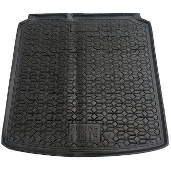 Коврик в багажник для Skoda Fabia '99-07 универсал, полиуретановый (AVTO-Gumm)