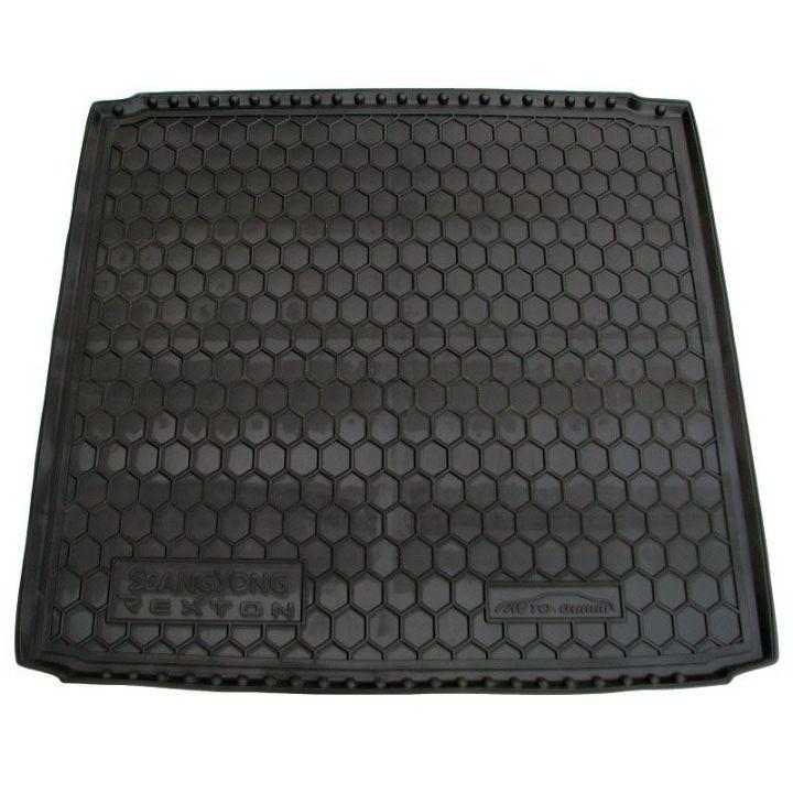Коврик в багажник для Ssangyong Rexton '01-, полиуретановый (AVTO-Gumm)