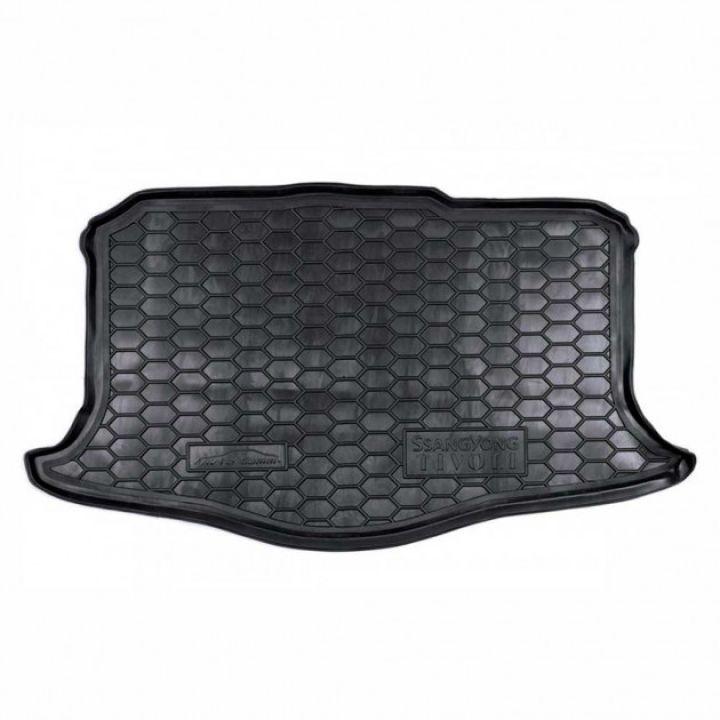 Коврик в багажник для Ssangyong Tivoli '15-, полиуретановый (AVTO-Gumm)