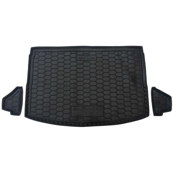 Коврик в багажник для Subaru XV 2017-, полиуретановый (AVTO-Gumm)