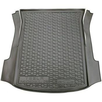 Коврик в багажник для Tesla Model 3 '17- задний, полиуретановый (AVTO-Gumm)