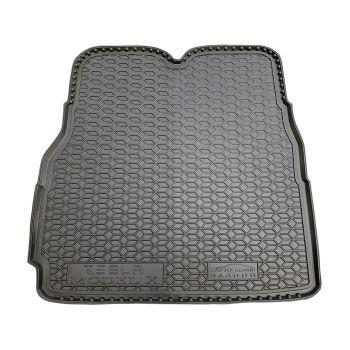 Коврик в багажник для Tesla Model X '15-, 6/7 мест большой, полиуретановый (AVTO-Gumm)