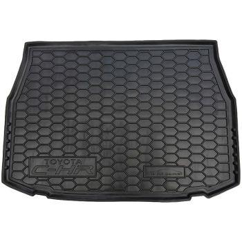 Коврик в багажник для Toyota C-HR '16-, полиуретановый (AVTO-Gumm)