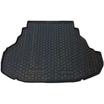 Коврик в багажник для Toyota Camry V50/55 2011-2017 (3.5L), полиуретановый (AVTO-Gumm)