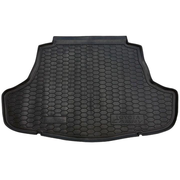 Коврик в багажник для Toyota Camry V70 2018-, полиуретановый (AVTO-Gumm)