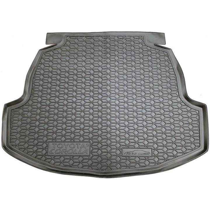 Коврик в багажник для Toyota Corolla 2019- седан, полиуретановый (AVTO-Gumm)