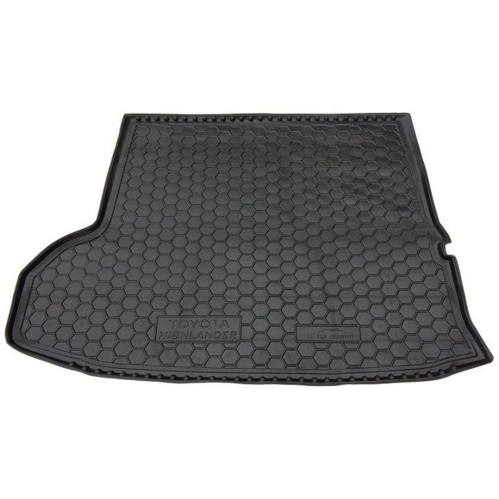 Коврик в багажник для Toyota Highlander 2014- 7 мест, полиуретановый (AVTO-Gumm)