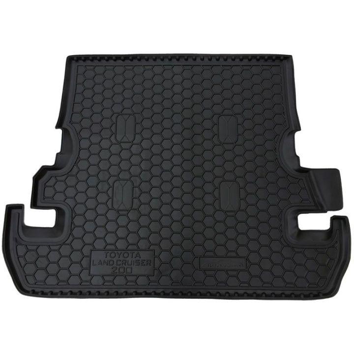 Коврик в багажник для Toyota Land Cruiser 200 '07- (7 мест), полиуретановый (AVTO-Gumm)