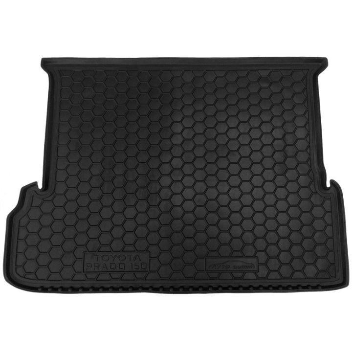 Коврик в багажник для Toyota LC Prado 150 '10- (7 мест, длинный), полиуретановый (AVTO-Gumm)
