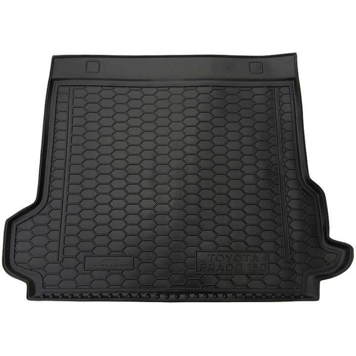 Коврик в багажник для Toyota LC Prado 150 '17- (5 мест), полиуретановый (AVTO-Gumm)