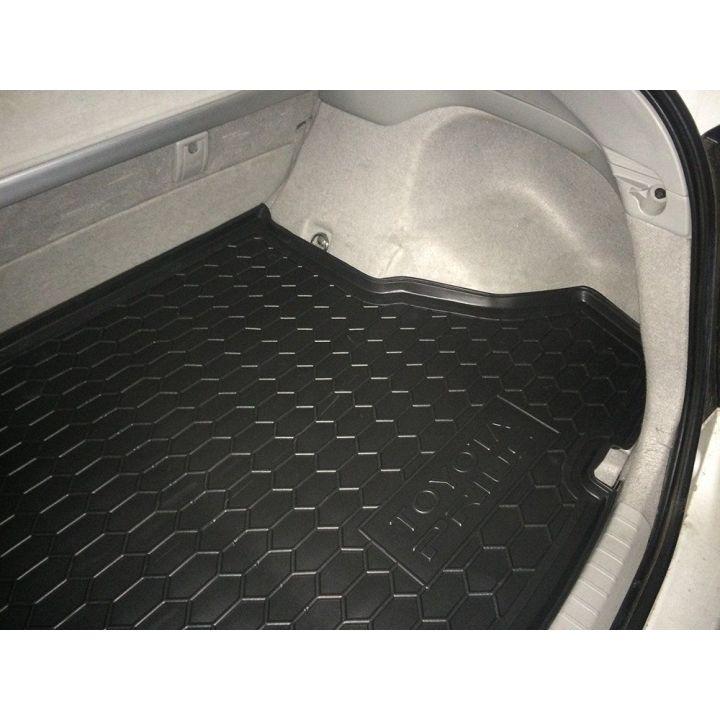Коврик в багажник для Toyota Prius 2010-, полиуретановый (AVTO-Gumm)