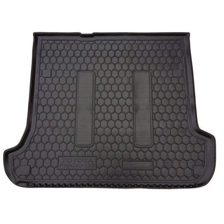 Коврик в багажник для Toyota LC Prado 120 '03-09 7 мест, полиуретановый (AVTO-Gumm)