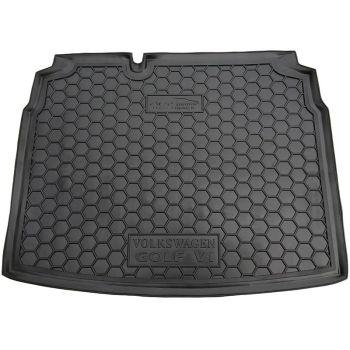 Коврик в багажник для Volkswagen Golf 6 '09-12 хетчбэк, полиуретановый (AVTO-Gumm)