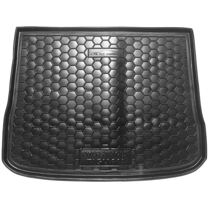 Коврик в багажник для Volkswagen Tiguan 2007-, полиуретановый (AVTO-Gumm)