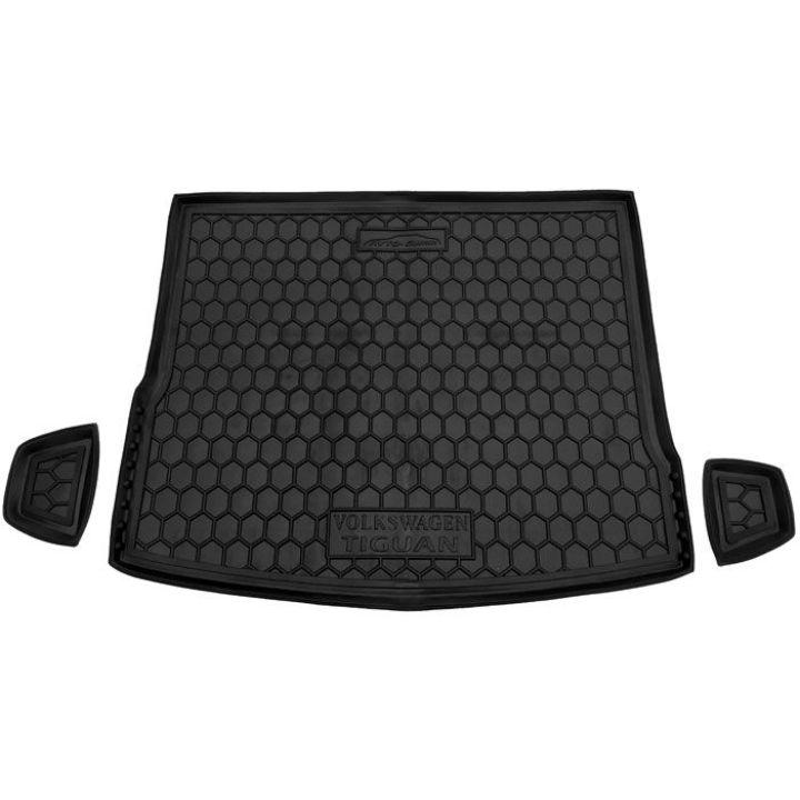 Коврик в багажник для Volkswagen Tiguan 2016-, полиуретановый (AVTO-Gumm)