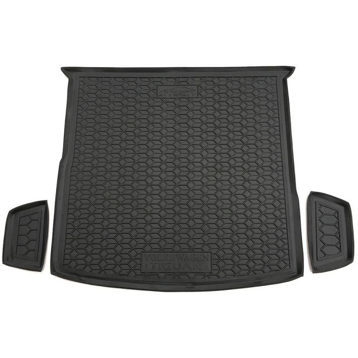 Коврик в багажник для Volkswagen Tiguan Allspace '16- 5 мест, полиуретановый (AVTO-Gumm)