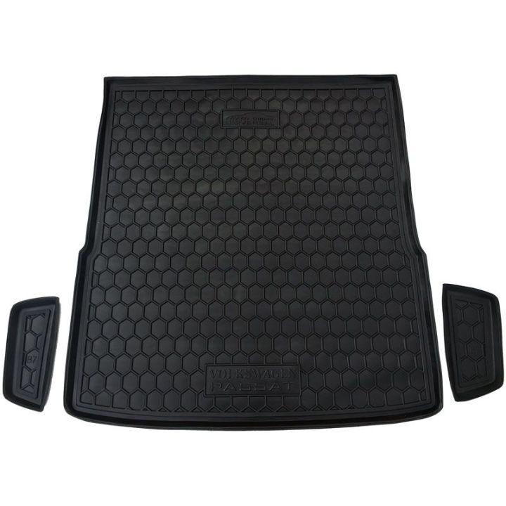 Коврик в багажник для Volkswagen Passat B7 '10-14 универсал, полиуретановый (AVTO-Gumm)