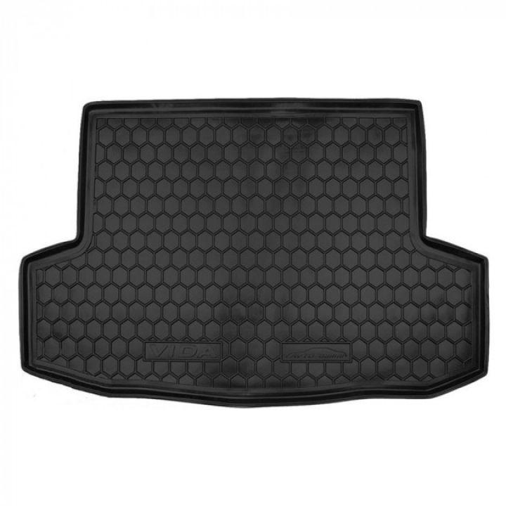 Коврик в багажник для ЗАЗ (Zaz) Vida '12-, полиуретановый (AVTO-Gumm)