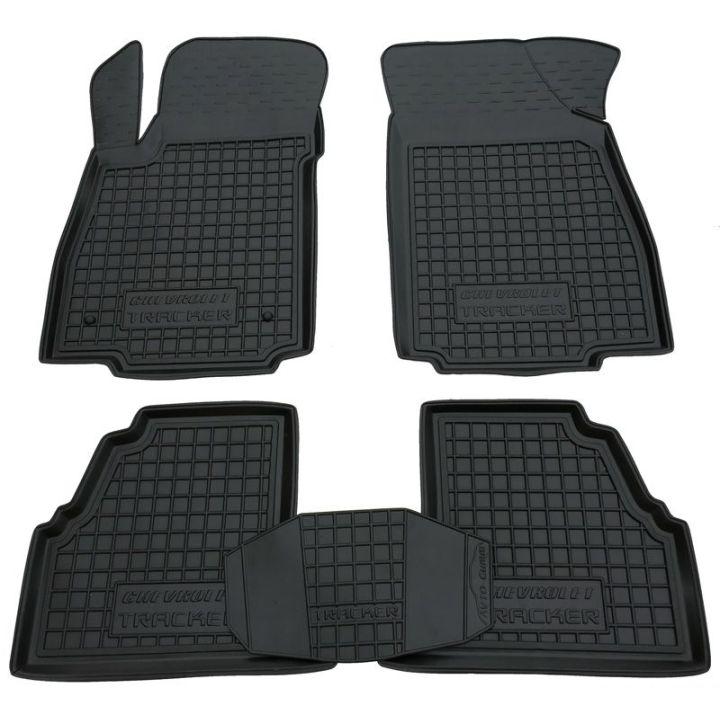 Коврики в салон для Chevrolet Tracker (2013>) резиновые (AVTO-Gumm)