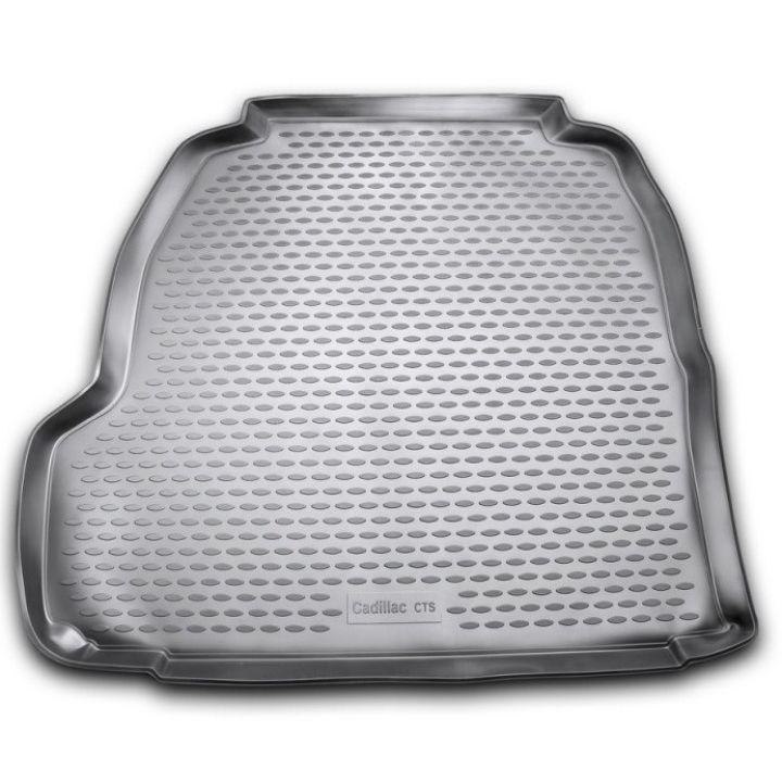 Коврик в багажник для Cadillac CTS II '07-14, полиуретановый Novline-Element
