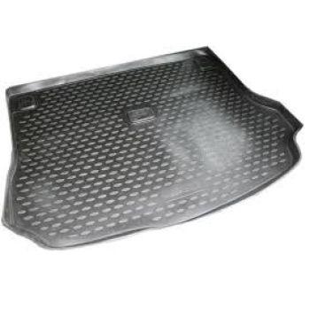 Коврик в багажник для Lada (Ваз) Largus 12- (7 мест), полиуретановый Novline-Element