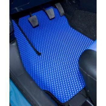 Коврики в салон для Daewoo Lanos / Sens '98-, синие EVA полимерные, (Autobro)