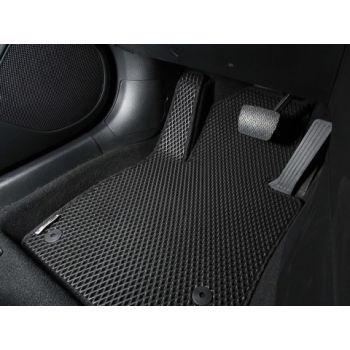 Коврики в салон для Honda Accord 7 '03-08, черные EVA полимерные, (Autobro)