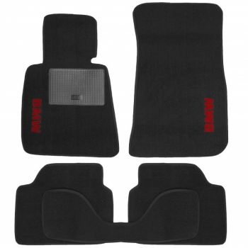 Коврики в салон для BMW 1 E87 '04-12, текстильные (Стандарт)