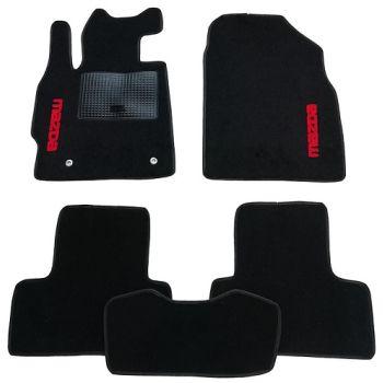 Коврики в салон для Mazda 3 '04-09, текстильные (Стандарт)