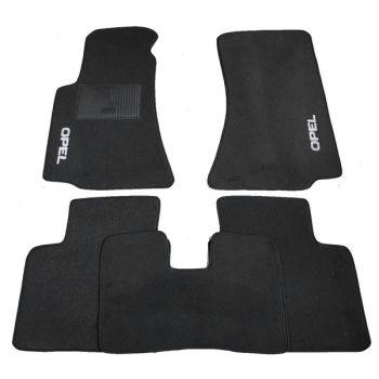 Коврики в салон для Opel Zafira C Tourer '12-, текстильные (Стандарт)