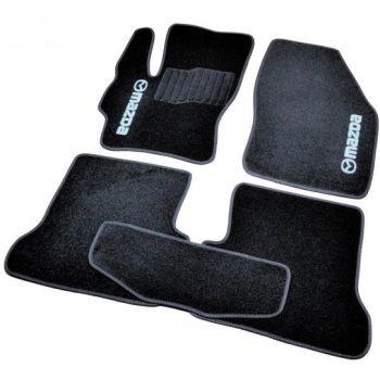 Коврики в салон для Mazda 2 '07-14, велюровые (Фортуна)