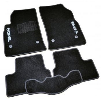 Коврики в салон для Opel Adam '13-, велюровые (Фортуна)