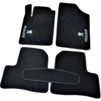 Коврики в салон для Peugeot 107 '09-14, велюровые (Фортуна)