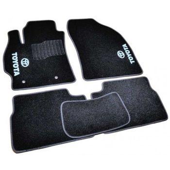 Коврики в салон для Toyota Auris '06-12, велюровые (Фортуна)