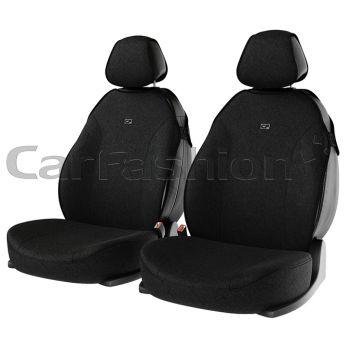 """Чехлы (майки) """"BINGO FRONT"""" на передние сиденья, черный (CarFashion)"""