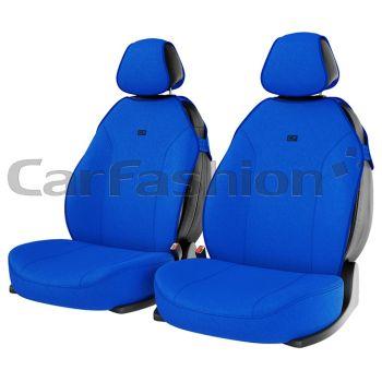 "Чехлы (майки) ""BINGO FRONT"" на передние сиденья, синий (CarFashion)"