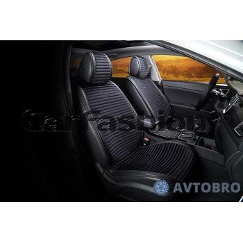 Накидки на передние сидения Monaco черный CarFashion