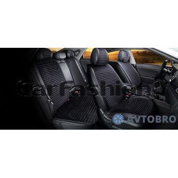 Накидки на сидения Monaco plus черный CarFashion