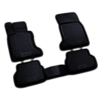 Коврики в салон для BMW 5 E60 '03-10, полиуретановые Element-Novline