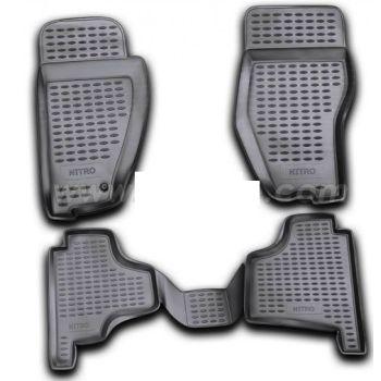 Коврики в салон для Dodge Nitro '07-12, полиуретановые Element-Novline