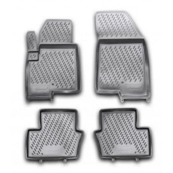 Коврики в салон для Jeep Compass '11-, полиуретановые Element-Novline