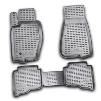 Коврики в салон для Jeep Grand Cherokee '04-10, полиуретановые Element-Novline