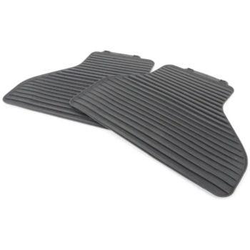 Коврики в салон оригинальные для BMW X5 E70 '07-13, полоса задние резиновые (Original)