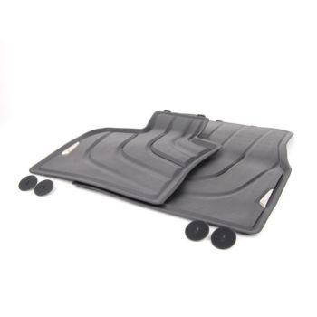 Коврики в салон оригинальные для BMW X3 F25 '10-17, передние резиновые (Original)