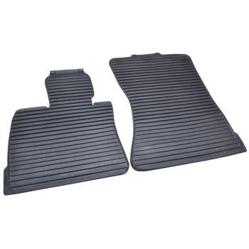 Коврики в салон оригинальные для BMW X6 E71 '08-14, полоса передние резиновые (Original)