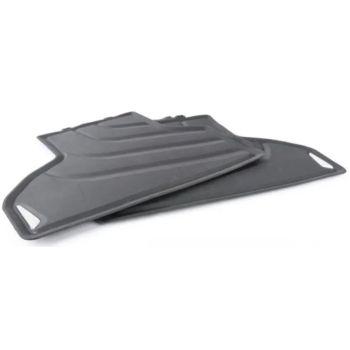 Коврики в салон оригинальные для BMW X6 F16 '15-19, задние резиновые (Original)