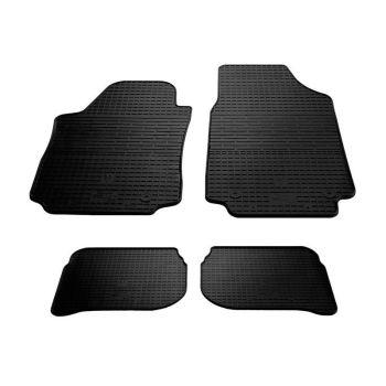 Коврики в салон для Audi 100 /A6 '91-97, резиновые черные  (Stingray)