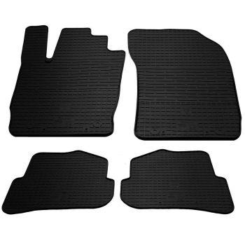 Коврики в салон для Audi A1 2010-, резиновые черные  (Stingray)